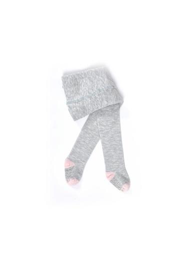 Katia & Bony Yummy Bambu Bebek Külotlu Çorap  Gri